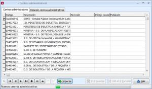 Formulario de Centros administrativos