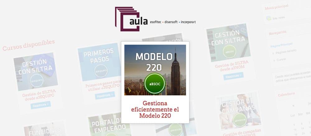 logo aura de formación Esofitec modelo 220