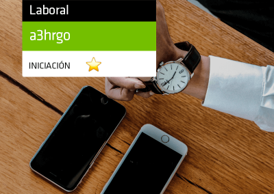 Registro Horario con el Portal del empleado a3HRGo