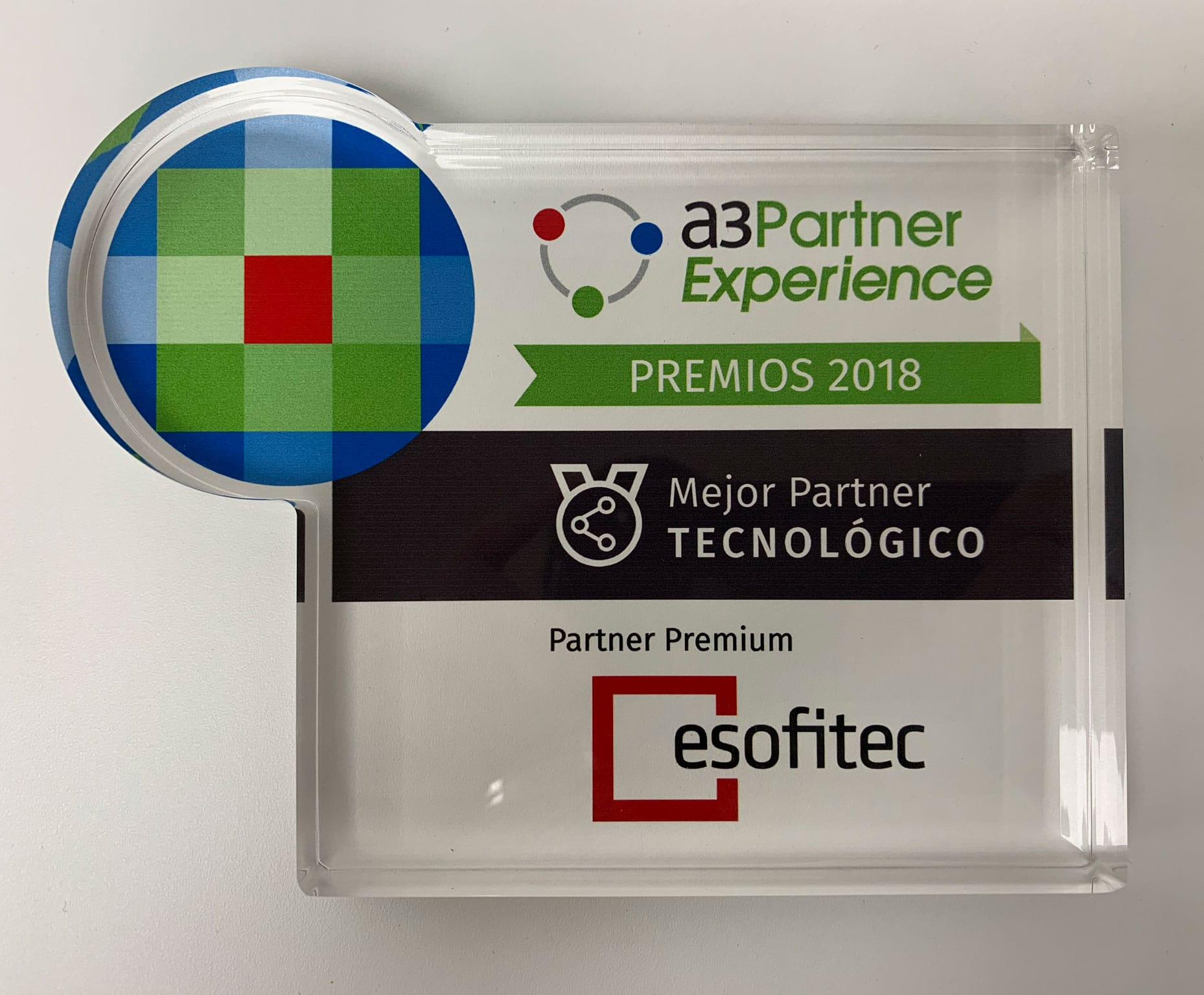 Distribuidor software a3 premio mejor partner tecnologico