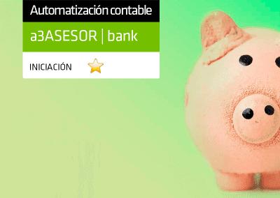 Contabilización automática de datos bancarios