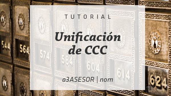 Unificación Códigos cotización