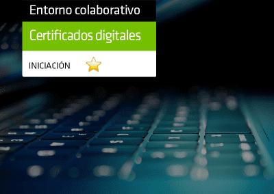 Emisión de certificados digitales desde la oficina