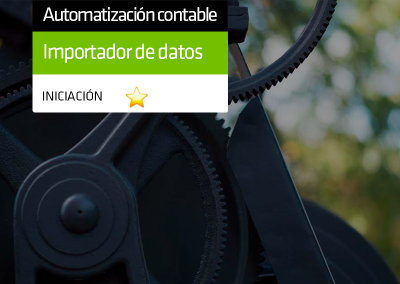 Importador de datos contabilidad para a3ASESOR | eco