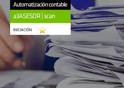 Reconocimiento digital de facturas con a3ASESOR | scan